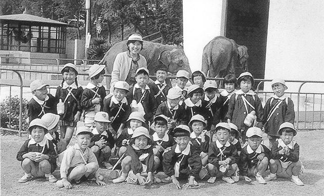 可知幼稚園遠足(昭和38年)