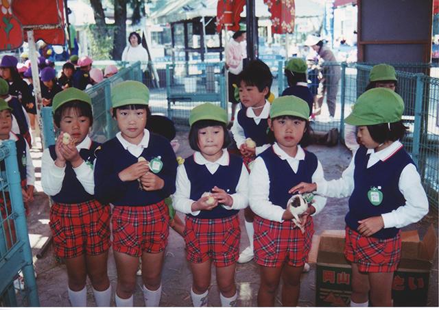 加茂幼稚園遠足写真(1993年10月)