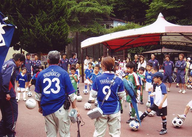 サッカー教室(2006年)
